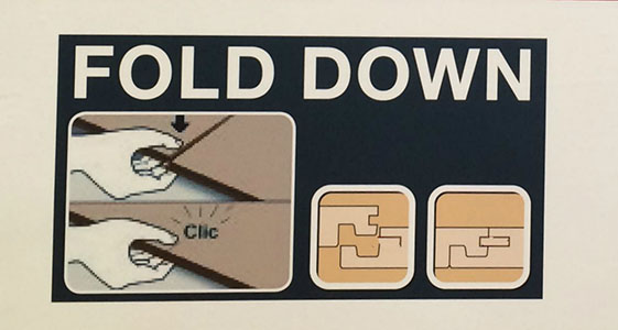 fold-down